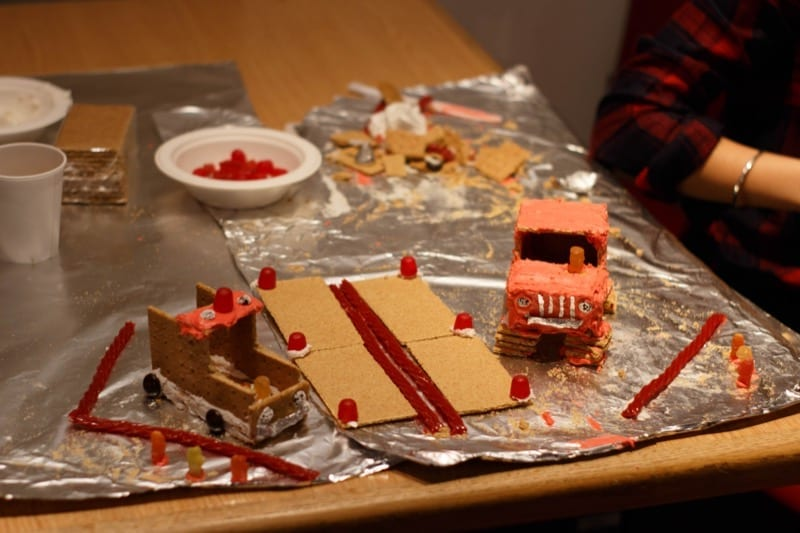 "Cars made of icing, crackers, and licorice won ""Most Creative"""