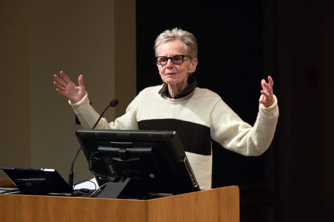 Susan Howe reads from her work.