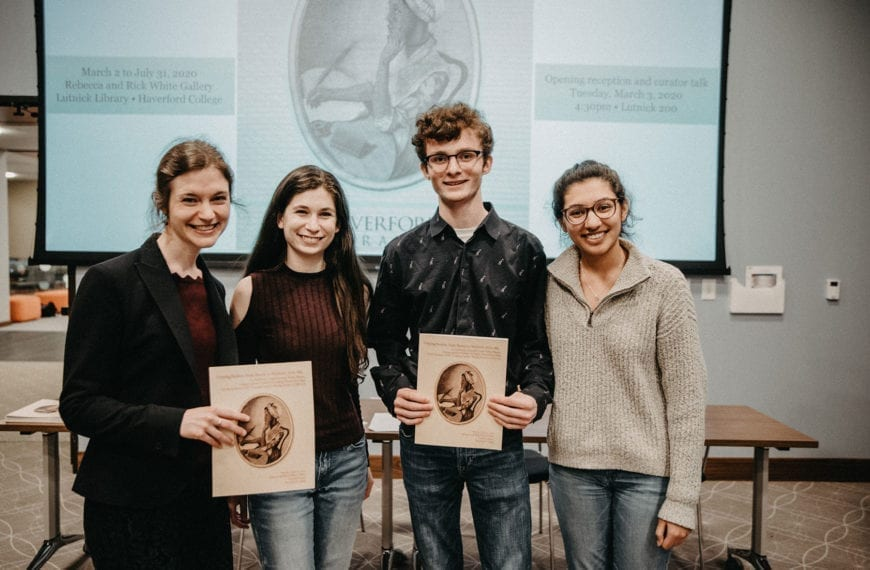 """""""Crossing Borders"""" Showcases Student Curatorial Talents"""